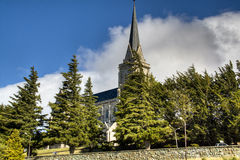 Cathedral of Bariloche, Argentina. Cathedral of the city of Bariloche, Argentina Stock Image
