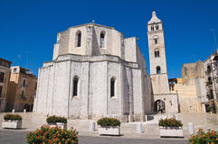 Cathedral of Barletta. Puglia. Italy. Stock Images