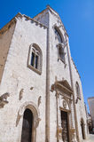Cathedral of Barletta. Puglia. Italy. Royalty Free Stock Photography