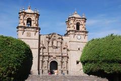 The Cathedral Baselica San Carlos Borromeo Stock Image
