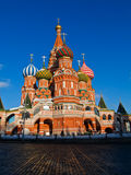 Cathedral of Basil the blessed Royalty Free Stock Images