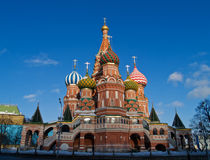 Cathedral of Basil the blessed Royalty Free Stock Photography