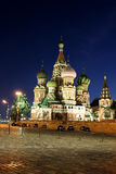 Cathedral of Basil Blessed in Moscow Royalty Free Stock Photography