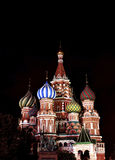 Cathedral of Basil Blessed in Moscow on Red Square Stock Photo