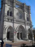 Cathedral Basilica of the Assumption.Catholic Cathedral stock photo