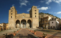 Cathedral-Basilica of Cefalu Royalty Free Stock Photography