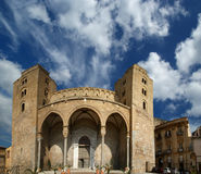 The Cathedral-Basilica of Cefalu Stock Images