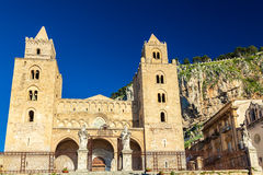 The Cathedral-Basilica of Cefalu Royalty Free Stock Photo