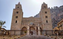Cathedral-Basilica of Cefalu, Sicilia, Italy Royalty Free Stock Photos
