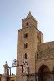 Cathedral-Basilica of Cefalu, Sicilia, Italy Stock Photography