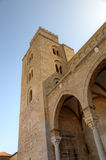 Cathedral-Basilica of Cefalu, Sicilia, Italy Stock Images