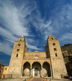 The Cathedral-Basilica of Cefalu, Sicily Royalty Free Stock Photo