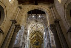Cathedral-Basilica of Cefalu, Sicily Royalty Free Stock Image