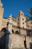 Cathedral Basilica of Cefalu, Sicily. Italy. Stock Photography