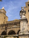 The Cathedral-Basilica of Cefalu, Sicily Stock Photography