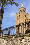 The Cathedral-Basilica of Cefalu, Sicily Royalty Free Stock Image