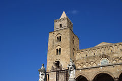 The Cathedral-Basilica of Cefalu, Sicily, southern Italy. Royalty Free Stock Photography