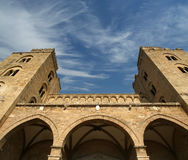 The Cathedral-Basilica of Cefalu, Sicily, southern Italy Stock Image