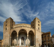 The Cathedral-Basilica of Cefalu, Sicily, southern Italy Stock Photography