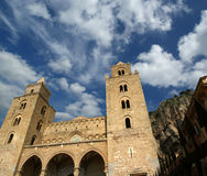 The Cathedral-Basilica of Cefalu, Sicily, southern Italy Stock Photos