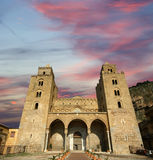 The Cathedral-Basilica of Cefalu, Sicily, southern Italy Royalty Free Stock Photos
