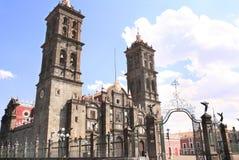 Cathedral Basilica de Puebla, Puebla de Zaragoza, Mexico Royalty Free Stock Photo