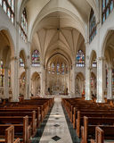 Cathedral Basilica of the Immaculate Conception Stock Photography