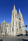 The Cathedral Basilica of the Immaculate Conception Royalty Free Stock Photo