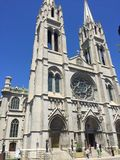 Cathedral basilica of the immaculate conception. Denver Colorado religion church Stock Photography