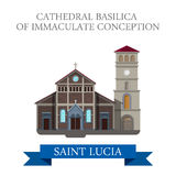 Cathedral Basilica Immaculate Conception Saint Luc Royalty Free Stock Photos