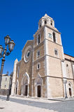 Cathedral Basilica. Lucera. Puglia. Italy. Royalty Free Stock Photo