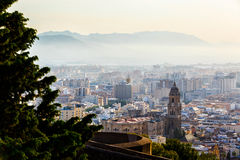 Cathedral Basilica of Malaga, Spain Royalty Free Stock Images