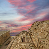 The Cathedral-Basilica of Monreale Royalty Free Stock Photo