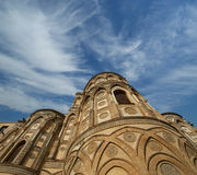 The Cathedral-Basilica of Monreale Stock Images