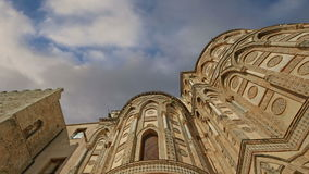 The Cathedral-Basilica of Monreale, is a Roman Catholic church in Monreale, Sicily, southern Italy stock footage