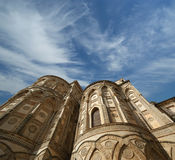 The Cathedral-Basilica of Monreale, Sicily Stock Photography
