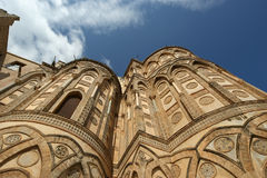 The Cathedral-Basilica of Monreale, Sicily Stock Photos