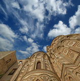 The Cathedral-Basilica of Monreale, Sicily Stock Photo