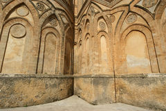 The Cathedral-Basilica of Monreale, Sicily Stock Images
