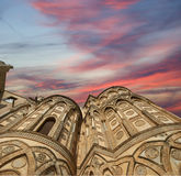 The Cathedral-Basilica of Monreale, Sicily, southern Italy Royalty Free Stock Images