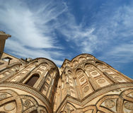 The Cathedral-Basilica of Monreale, Sicily, southern Italy Stock Photo