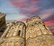The Cathedral-Basilica of Monreale, Sicily, southern Italy Stock Image