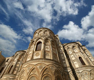 The Cathedral-Basilica of Monreale, Sicily, southern Italy Royalty Free Stock Photo
