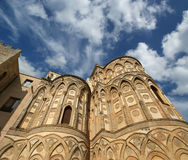 The Cathedral-Basilica of Monreale, Sicily, southern Italy Royalty Free Stock Photography