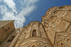 The Cathedral-Basilica of Monreale, Sicily, southern Italy Stock Images