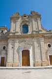 Cathedral Basilica. Oria. Puglia. Italy. Royalty Free Stock Photo