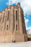 Albi Cathedral. The Cathedral Basilica of Saint Cecilia, Albi, France Royalty Free Stock Image