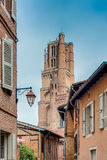 Cathedral Basilica of Saint Cecilia, in Albi, France Stock Photos