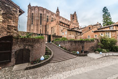 Cathedral Basilica of Saint Cecilia, in Albi, France Stock Photography