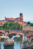 Cathedral Basilica of Saint Cecilia, in Albi, France Royalty Free Stock Photography